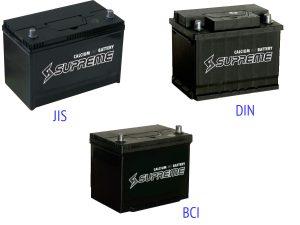 Аккумуляторные батареи Supreme