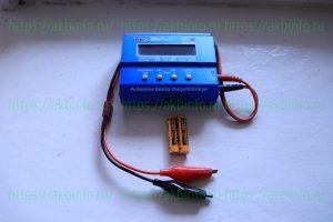 Заряд щелочного аккумулятора