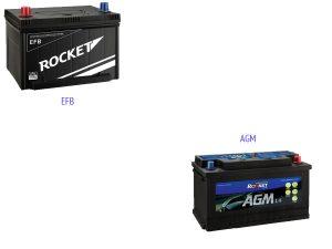 Аккумуляторы Sebang EFB и AGM
