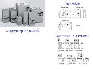 AGM аккумуляторы Sebang ESG