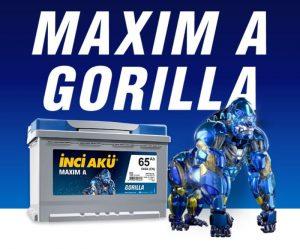 АКБ Inci Aku Maxim A Gorilla