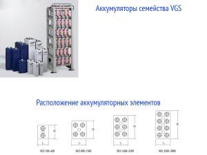 Аккумуляторы Sebang VGS