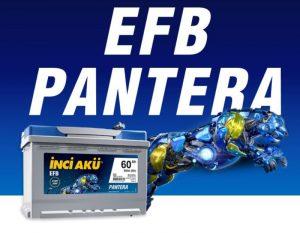 Аккумулятор Inci Aku EFB Pantera