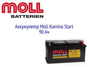 АКБ Moll Kamina Start 90 Ач