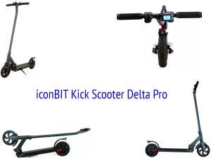 Электросамокат iconBIT Kick Scooter Delta Pro