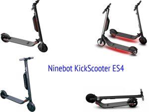 Самокат Ninebot KickScooter ES4