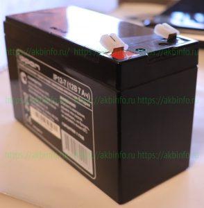 Аккумулятор Ippon IP12-7 для ИБП компьютера