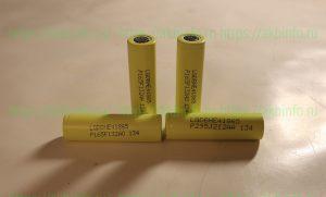 Тест четырёх аккумуляторов LGDBHE41865