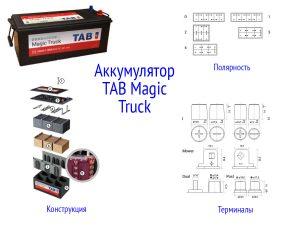 Аккумуляторные батареи TAB Magic Truck