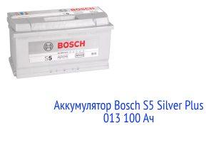 АКБ Bosch S5 Silver Plus013100 Ач