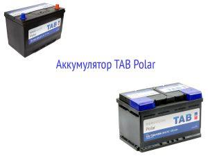 Аккумуляторы TAB Polar