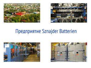 Завод Sznajder Batterien