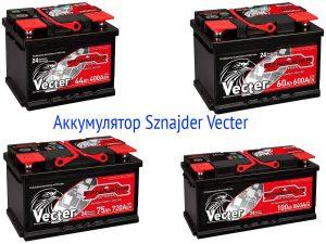 Аккумуляторная батарея Sznajder Vecter
