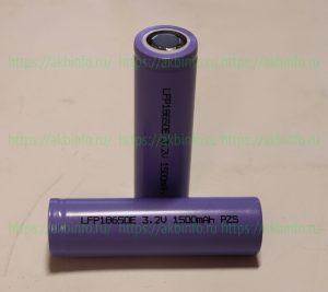 Обзор аккумуляторов Unitek LFP18650E