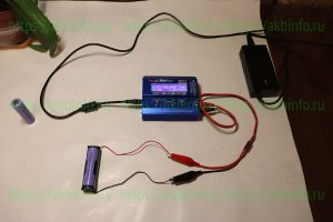 Для теста использовалось ЗУ iMax B6 Mini