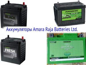 Аккумуляторы Amara Raja Batteries Ltd.