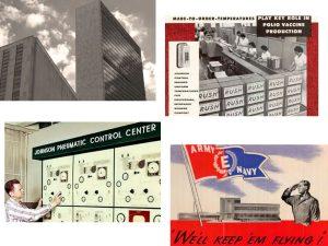Во время войны продукция Johnson Controls помогала экономить энергоресурсы