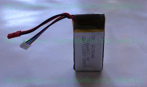Тест литий-полимерного аккумулятора для квадрокоптеров