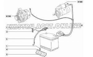 Установка стартерного аккумулятора на автомобиле ВАЗ-2114