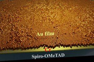 Использование затравочного слоя хрома позволило вырастить ультратонкую золотую пленку, которая служит прозрачным электродом с хорошей проводимостью для солнечных элементов.
