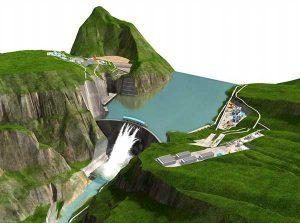 В Китае запущена в работу вторая по величине в мире гидроэлектростанция