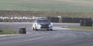 Испытания RX1E «автомобиле-муле»