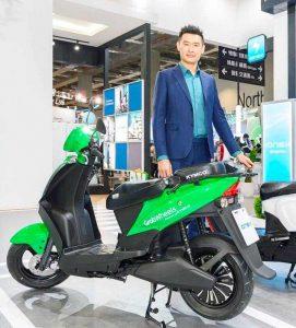 Компания Taiwan Taxi переведёт службу доставки на электроскутеры