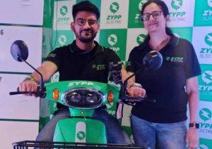 Zypp выпустили на рынке Индии грузовой электроскутер