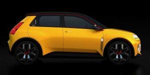 Renault 5 Prototype, представленный на презентации