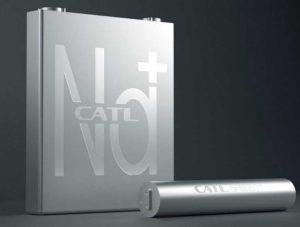 CATL представили натрий-ионные аккумуляторы