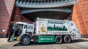 DSNY купит 7 электрических мусоровозов