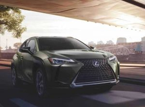 Представлен Lexus UX 2022 модельного года