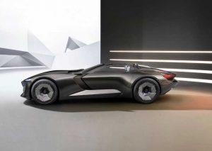Audi представили концепт электрического родстера Skysphere