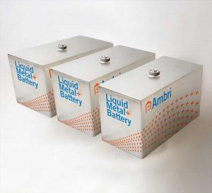 Ambri привлекает средства для долгосрочных проектов хранения энергии