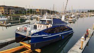 Первое коммерческое судно на водородных топливных элементах