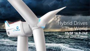 Построена морская ветряная турбина высотой 264 метра