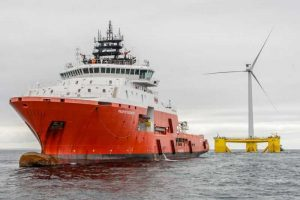 Завершена установка крупнейшей плавучей морской ветряной электростанции