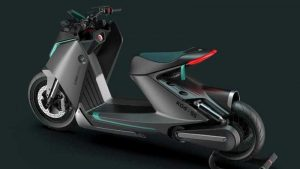 Дизайн-студия показала футуристический скутер BMW K04-55