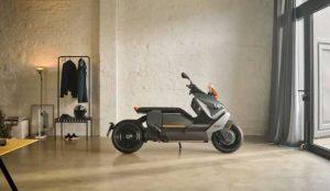 BMW Motorrad представили электрический скутер CE-04