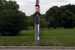В Канзас-Сити появятся зарядные станции для электромобилей на базе уличных фонарей