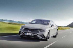 Mercedes-Benz представили электромобиль EQE 2023
