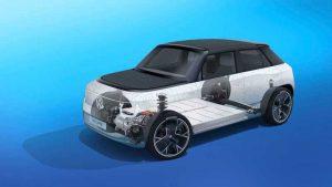 Концерн Volkswagen представил платформу для электромобилей MEB-Small