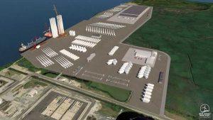 Первый порт для морской ветроэнергетики в США строится в Нью-Джерси