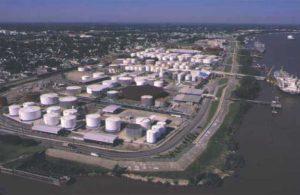 Терминал Kinder Morgan Harvey в Новом Орлеане (штат Луизиана)