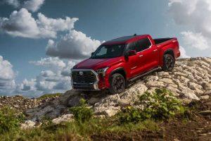 У компании Toyota появится первый гибридный пикап Tundra 2022 модельного года