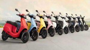 Электрические скутеры Ola Electric