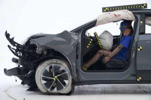 Краш тесты Volkswagen ID.4 2021 в IIHS