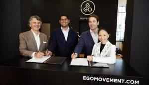 Компания TVS объявила о покупке Swiss Mobility Startup EGO Movement