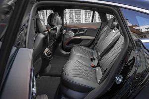 Салон электромобиля Mercedes-Benz EQS