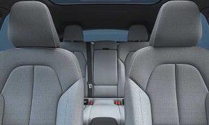 Интерьер Volvo C40 Recharge